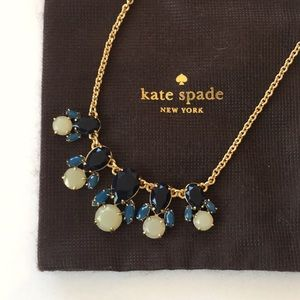 Kate Spade ♠️ Blue Ivory Necklace